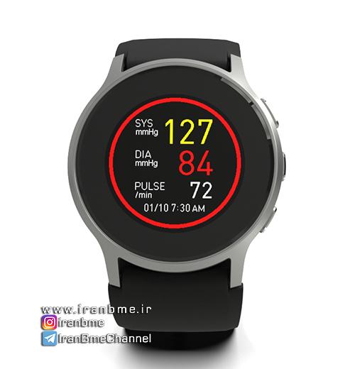 اولین ساعت هوشمند دنیا با قابلیت اندازهگیری فشار خون