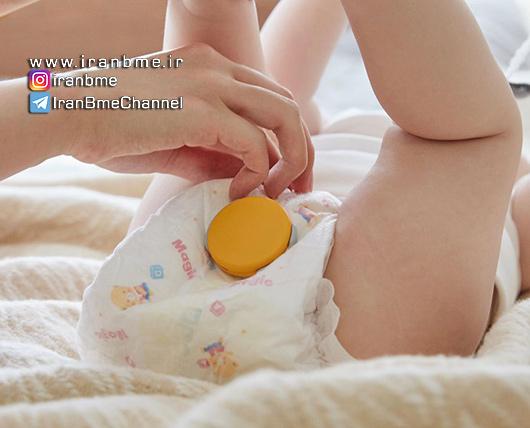 پوشک هوشمند بچه